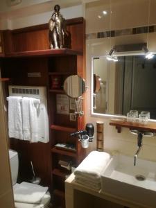 Een badkamer bij La Coloniale