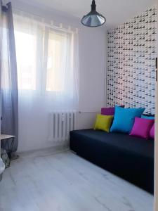 A seating area at Apartament Wałbrzych