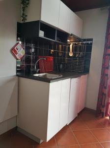 A cozinha ou cozinha compacta de Casa da Ribeira
