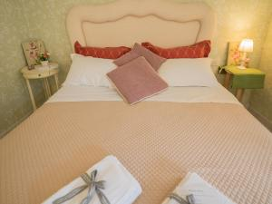 A bed or beds in a room at Levre de Cuppi