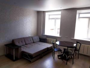 Zona d'estar a Апартаменты на Юбилейной