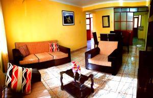 Zona de estar de Rent Apartment - To Cusco
