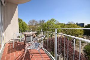 A balcony or terrace at Berlin Habitat