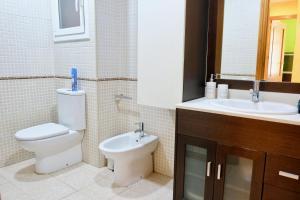 A bathroom at Apartment Port Forum