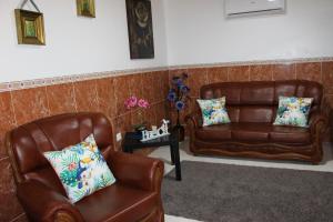 A seating area at Casa do Facho