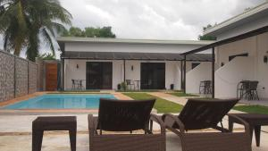 The swimming pool at or near panglao moravian apartments