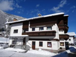 Haus Gebhard during the winter