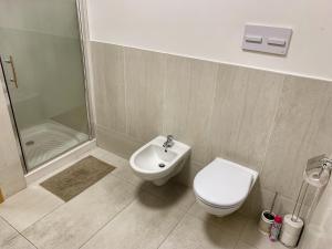 Kúpeľňa v ubytovaní Cozy Apartment IP Pavlova