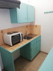 Cucina o angolo cottura di Salvanos Residence