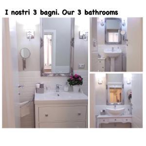 Koupelna v ubytování Casa De Rose