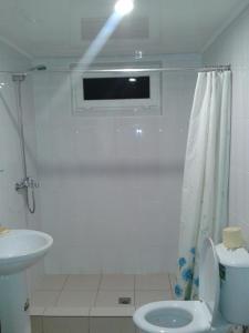 A bathroom at House at Krasnaya Polyana