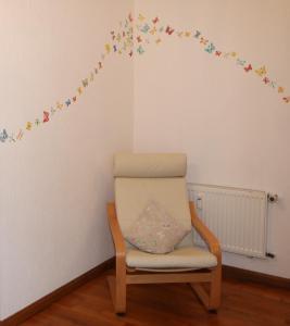 Posezení v ubytování Gaestehaus Kön - Fewo Farfalle