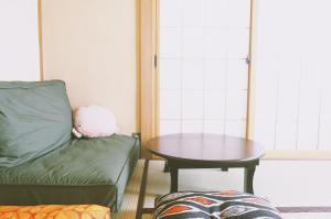 พื้นที่นั่งเล่นของ May Guesthouse