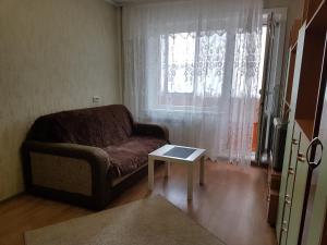Гостиная зона в Шумакова 43