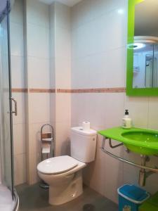 A bathroom at Villa Dalia