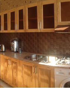 A kitchen or kitchenette at Sema Qonaq Evi