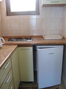 O bucătărie sau chicinetă la Vila V3