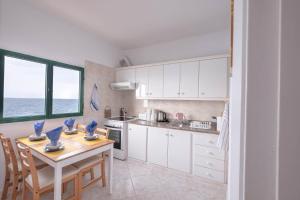 Una cocina o zona de cocina en Casa el Adina