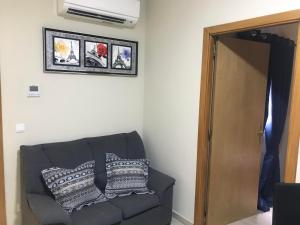 A seating area at Aparthotel Giuliano
