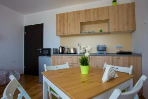 A kitchen or kitchenette at Apartment IVA - Iglika 2