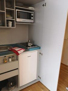 Küche/Küchenzeile in der Unterkunft Chalet Sonnenblick