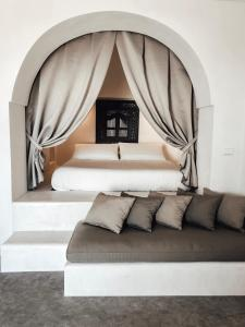 Cama ou camas em um quarto em Il Dammusino di Pantelleria