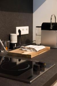 Küche/Küchenzeile in der Unterkunft Judengasse
