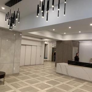 Lobbyen eller receptionen på Toronto Luxury Accommodations - University Plaza