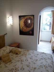 Krevet ili kreveti u jedinici u objektu Villa Cristina