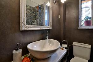 A bathroom at Bonagrazia