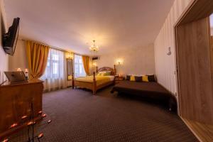 Posezení v ubytování Hermannstadt House 1