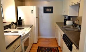 A kitchen or kitchenette at South Shore Apartment 1171A