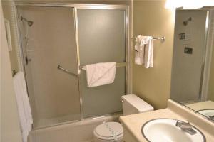 A bathroom at South Shore Apartment 1171A