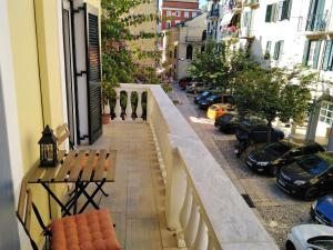 A balcony or terrace at Lilliput Studio Corfu Old Town