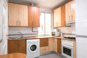 Küche/Küchenzeile in der Unterkunft La Latina 6