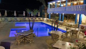 The swimming pool at or near Folia Apartments