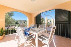 A balcony or terrace at Romantica