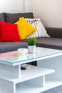 A seating area at Apartment Jele