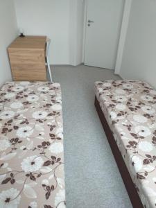 Posteľ alebo postele v izbe v ubytovaní Clean & comfortable 3 room flat near old town IIHF