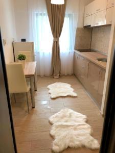 Kitchen o kitchenette sa Apartament Anastasia