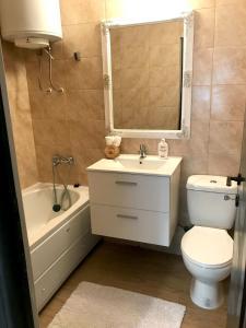 Bathroom sa Apartament Anastasia