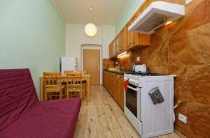A kitchen or kitchenette at Residence Jagellonska