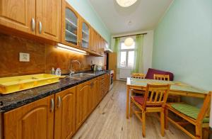 A kitchen or kitchenette at Residence Jagellonska