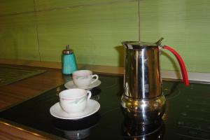 Kaffee-/Teezubehör in der Unterkunft Apartment Thomas