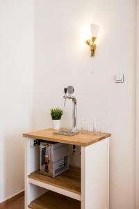 Dapur atau dapur kecil di Apartment VINOHRADY