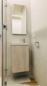 Ein Badezimmer in der Unterkunft Jazz