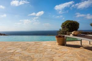 The swimming pool at or close to Villa Univa by Mykonos Pearls