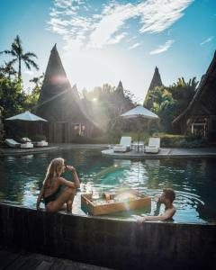 The swimming pool at or near Own Villa Bali
