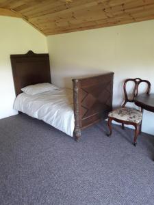 Gulta vai gultas numurā naktsmītnē Ružēni Apartment