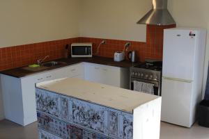 Küche/Küchenzeile in der Unterkunft Mt Tiger Guest house